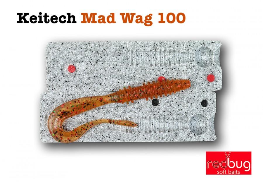 Keitech Mad Wag 100 (реплика)