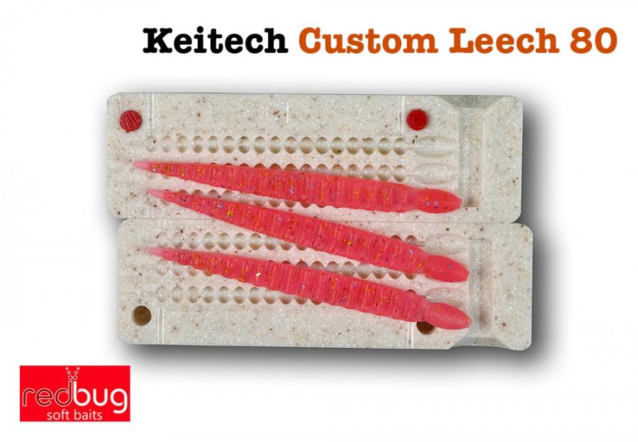 Keitech Custom Leech 80 (реплика)