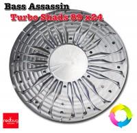 Bass Assassin Turbo Shads 89 x24 Алюминий