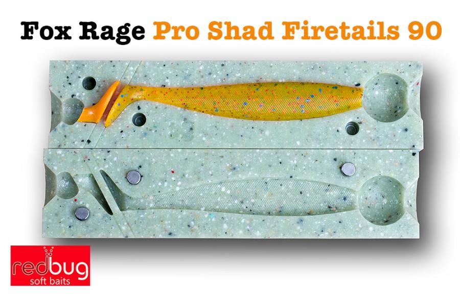 Fox Rage Pro Shad Firetails 90 (реплика)