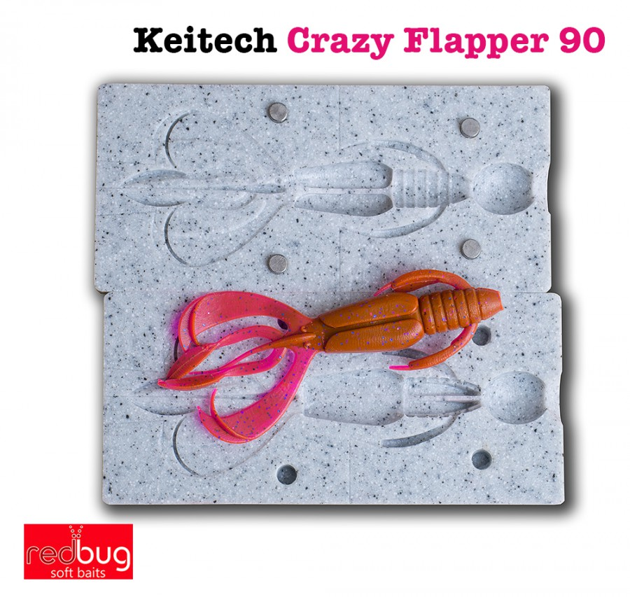 Keitech Crazy Flapper 90 (реплика)
