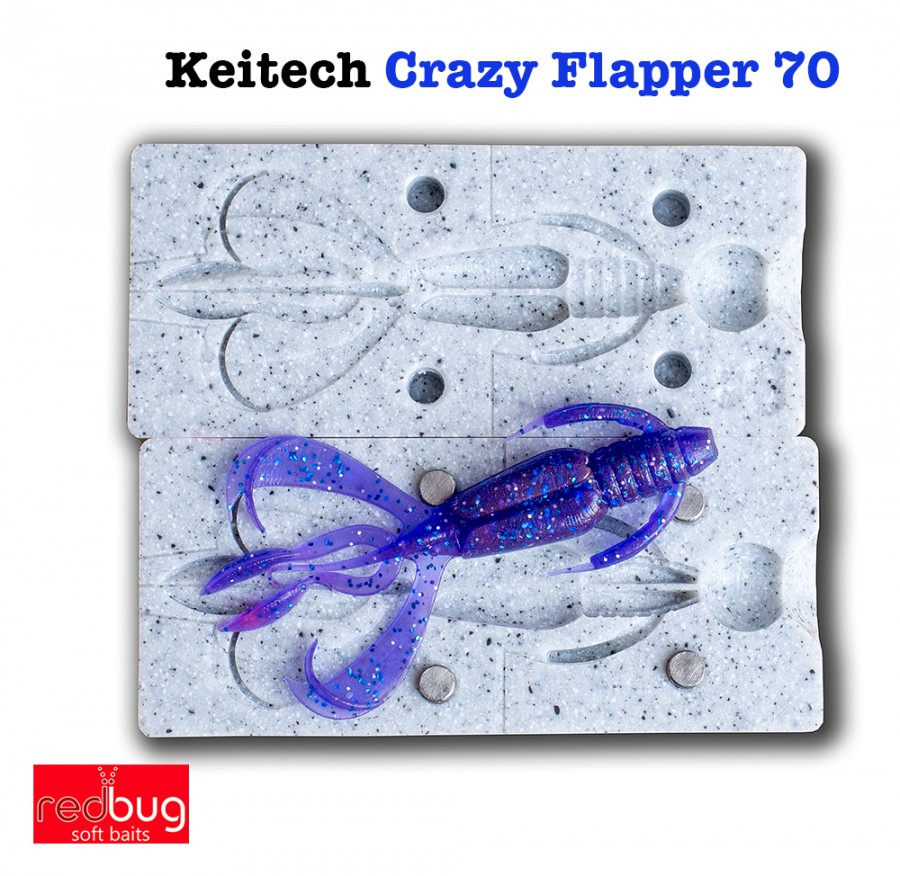 Keitech Crazy Flapper 70 (реплика)