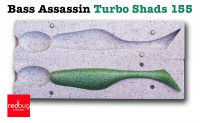 Bass Assassin Turbo Shads 155 (реплика)