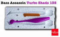 Bass Assassin Turbo Shads 135 (реплика)
