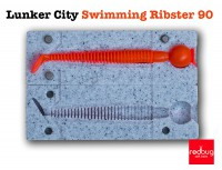 Lunker City Swimming Ribster 90 (реплика)
