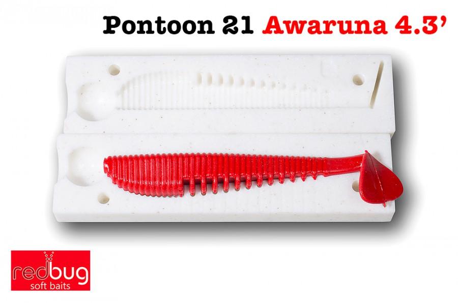 "Pontoon 21 Awaruna 4.3"" ( реплика)"