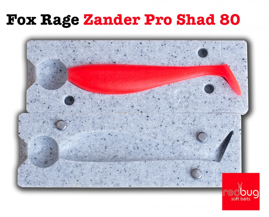 Fox Rage Zander Pro Shad 80 (реплика)