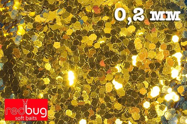 Блестки Золото 0.2 мм