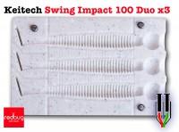 Keitech Swing Impact 100 Duo x3 (реплика)