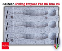 Keitech Swing Impact Fat 95 Duo x3 (реплика)