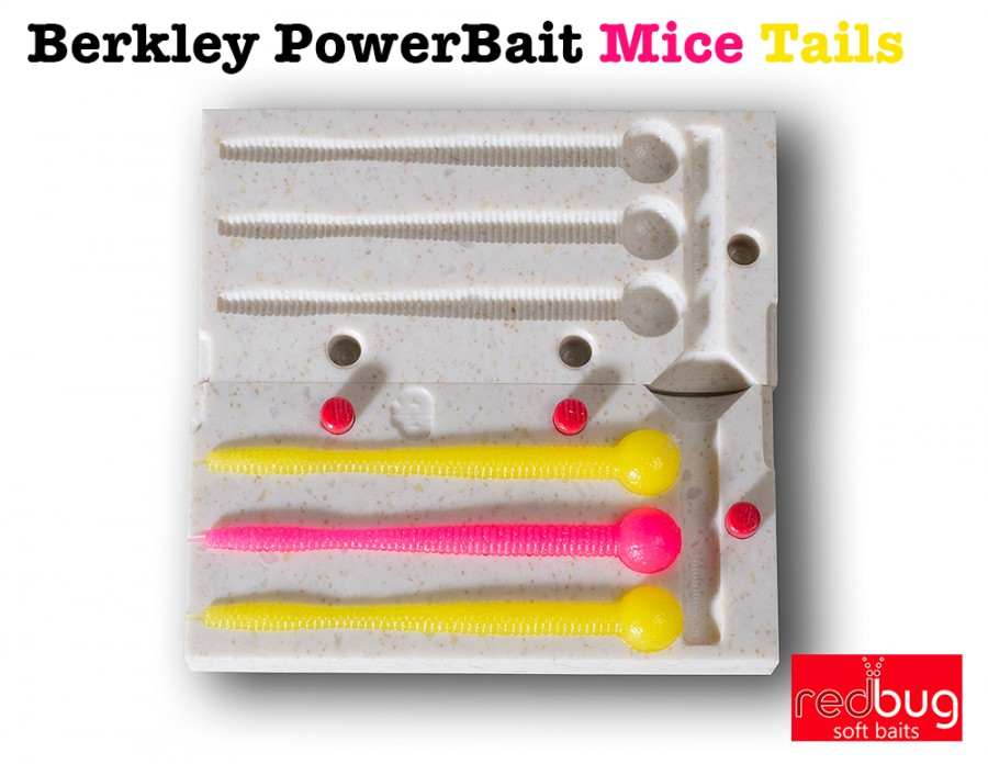 Berkley PowerBait Mice Tails 70 (реплика)