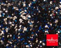 Блестки Чёрные Голографические 0.4 мм