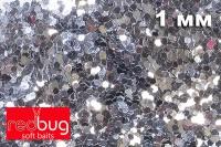 Блестки Серебро 1мм