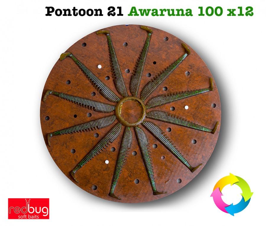 Pontoon 21 Awaruna 100 x12 (реплика)
