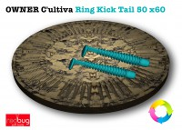 OWNER / C'ultiva Ring Kick Tail 50 x60 (Реплика)