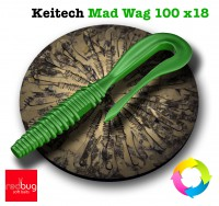 Keitech Mad Wag 100 x18 (реплика)
