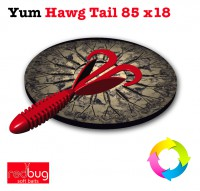 Yum Wooly Hawg Tail 85 x18 (реплика)