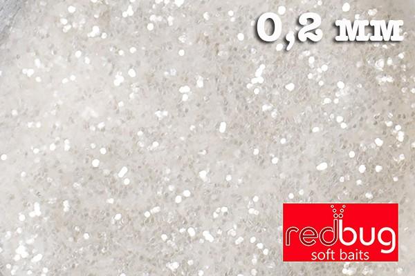 Блестки Белые 0.2 мм