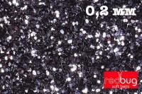 Блестки Черные 0.2 мм