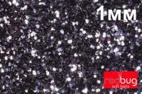 Блестки Черные 1мм