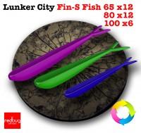 Lunker City Fin-S Fish 100 x6 80x12 65x12 (реплика)