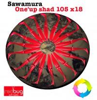 Sawamura One'up shad 105 x18 (Реплика)