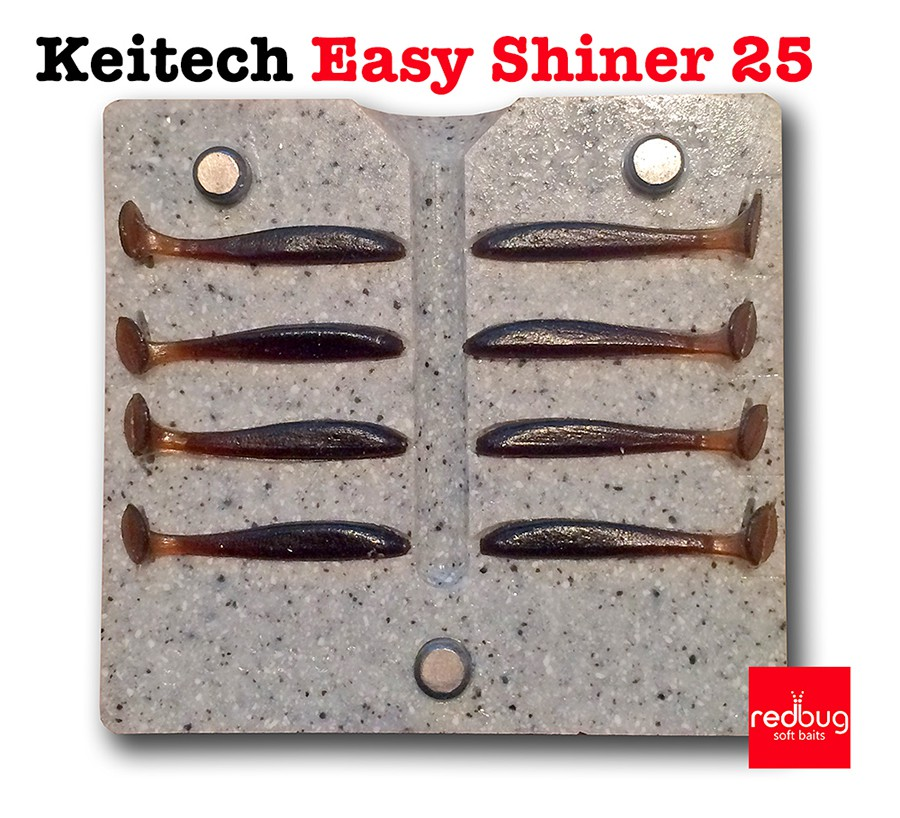 Keitech Easy Shiner 25 (реплика)