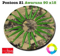 Pontoon 21 Awaruna 90 x18 (Реплика)