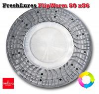 FreshLures FlipWorm 50 x36 Алюминий