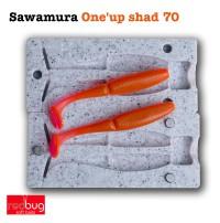 Sawamura One'up shad 70 (реплика)