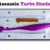 Bass Assassin Turbo Shads 135 (реплика)