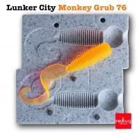 Lunker City Monkey Grub 76 (реплика)