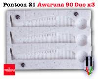 Pontoon 21 Awaruna 90 Duo x3 (реплика)