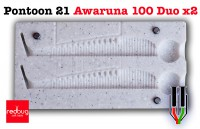 Pontoon 21 Awaruna 100 Duo x2 (реплика)