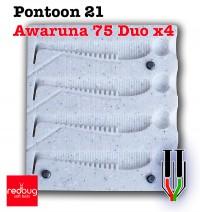 Pontoon 21 Awaruna 75 Duo x4 (реплика)
