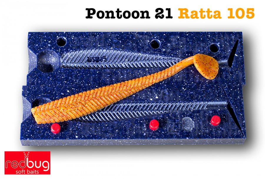 "Pontoon 21 Ratta 4.25"" (реплика)"