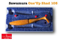 Sawamura One'up shad 105 (реплика)