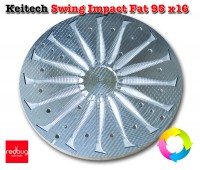Keitech Swing Impact Fat 95 x16 Алюминий