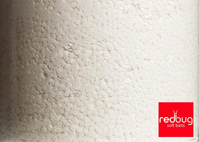Блестки Белые 0.6 мм