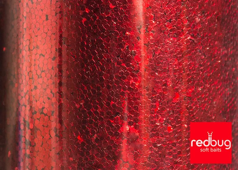 Блестки Красные 0.6 мм