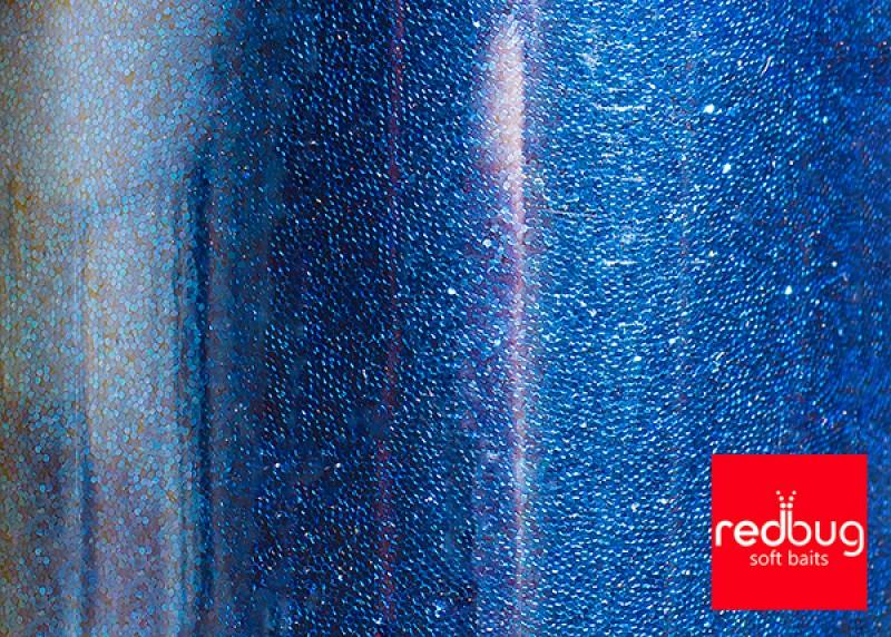 Блестки Синие 0.2 мм