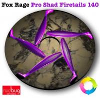 Fox Rage Pro Shad Firetails 140 x5 (Реплика)