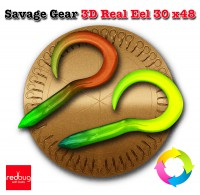 Savage Gear 3D Real Eel 30 x48 (реплика)
