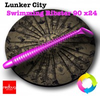 Lunker City Swimming Ribster 90 x24 (реплика)