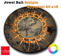 Jewel Bait Sculpin Hypertail 60 x15 (реплика)
