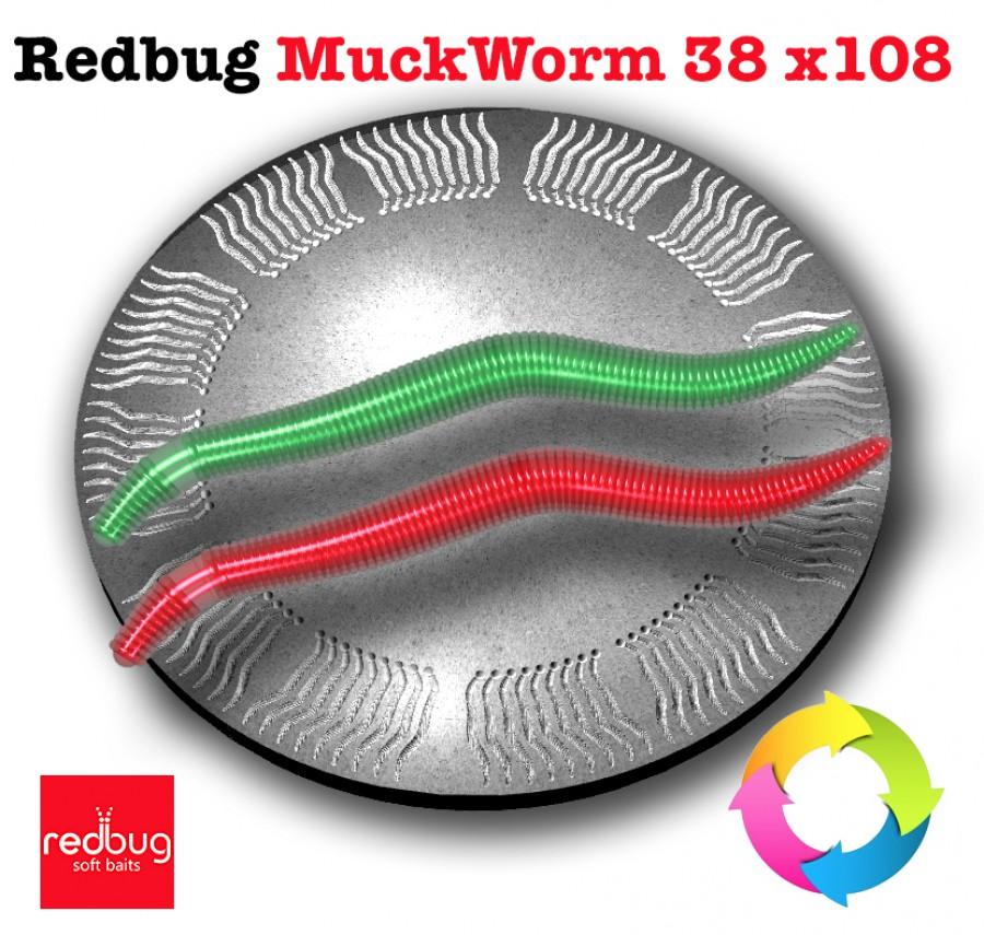 Redbug MuckWorm 38 x108