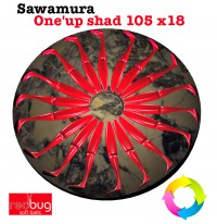 Sawamura One'up shad 105 x18 (Реплика)