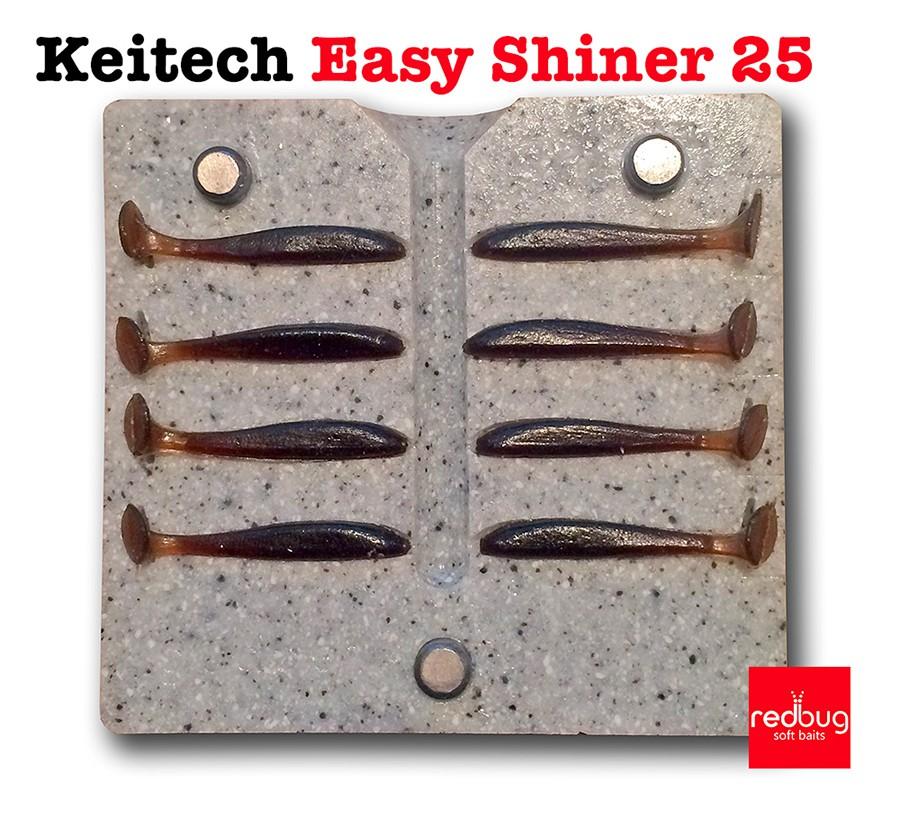 Keitech Easy Shiner 25 (реплика)